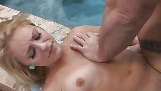 Swimming pool facial