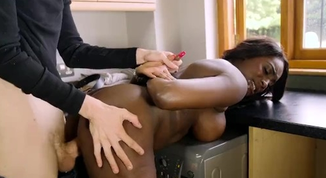 Big Tit Black Slut..